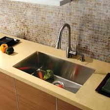 single bowl undermount kitchen sink white stainless steel sinks