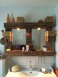 badezimmer spiegelregal dekor regal aus paletten