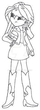 Luxury Equestria Girl Coloring Pages Sunset Shimmer Mold My Little Pony