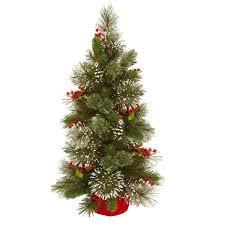 3ft Wintry Pine Artificial Christmas Tree Beautiful Christmas
