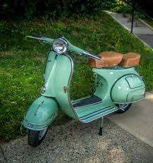 Vintage Vespa VBB Green