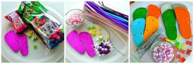 Materials For Flip Flop Kids Craft