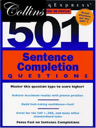 501 sentence completion questions pdf graduate record