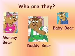 18 Who Are They Baby Bear Mummy Daddy