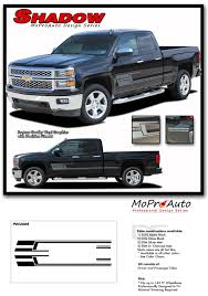 100 2014 Chevy Truck Colors SHADOW Silverado Vinyl Graphic Decal Lower Body Accent