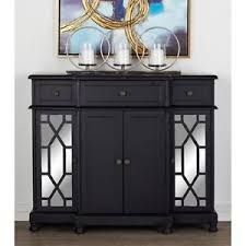 Image Is Loading Mirrored Buffet Console Cabinet Dining Room Table Sideboard