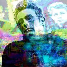 100 James Deans Cape 2 Dean Pop Art Canvas