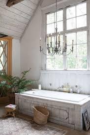 Modern Chandelier Over Bathtub by Best 25 Farmhouse Bathtubs Ideas On Pinterest Farmhouse Bathtub