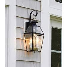 best 25 outdoor wall lighting ideas on garden within