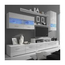 Hot Item Latest Design LED Glossy TV Stand Wall Hall Cabinet