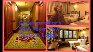 chambre standard sequoia lodge disneyland 2016 2017 hotel room tour sequoia lodge