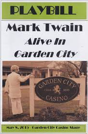 We Are A Proud Sponsor of Mark Twains Visit To Garden City