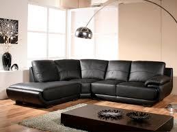 la maison du canapé canapé angle en cuir mozart