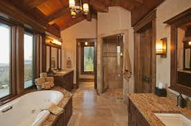 Rustic Bathtub Tile Surround by Bathrooms Design Modern Rustic Bathroom Design Of Extraordinary