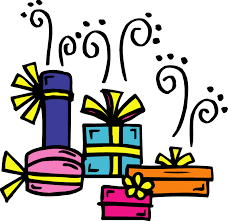 Birthday Presents Clipart Black And White Gift 01 Birthday Clipart