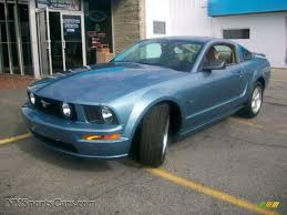 2007 Ford Mustang GT Premium Coupe in Windveil Blue Metallic