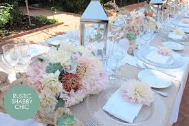 Amazing Shabby Chic Wedding Table Settings 47 About Remodel Setting Ideas With