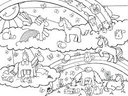 Free Unicorn Coloring Pages Trend New Pink Fluffy Unicorns Dancing On Rainbows