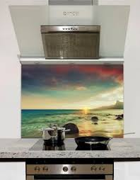 If Youre Planning A Makeover For Your Kitchen Glass Splashbacks Are Wise Option To Consider Whether You Go Classic Neutrals Zesty Brights