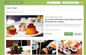 groupon cuisine groupon makes bid to become local deals search engine