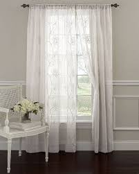 Target Black Sheer Curtains by Amazon Com Laura Ashley Frosting 80