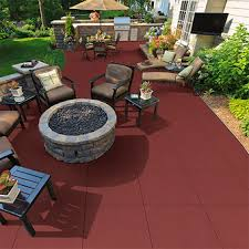 outdoor rubber rooftop and deck tile nutek flooring