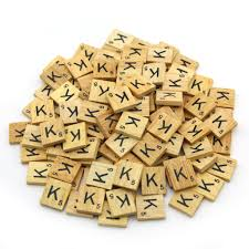 Scrabble Tile Value Change by Wooden Scrabble Tiles Custom Letters Set For Jewelry Scrapbooking