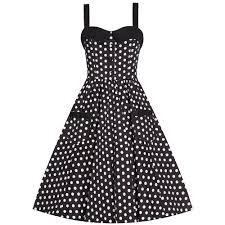 saphy u0027 black white spot rockabilly dress clothes shoes