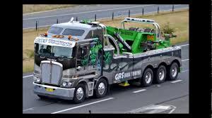 Slideshow Of Australian Kenworth Heavy Tow Trucks - YouTube