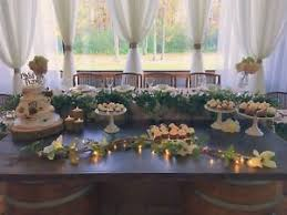 Rustic Wedding Dessert Table Cake Cupcake Stands For Rent