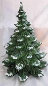 Vintage Atlantic Mold Ceramic Christmas Tree by Vintage Lighted Christmas Trees Christmas Decorating Pinterest