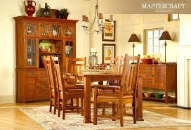 Mission Style Dining Room Chairs Amazing With Discontinued Oak Table And