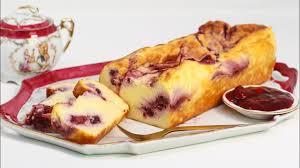 käse kastenkuchen mit roter grütze und wenig kalorien