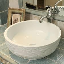 china geschnitzte die große wand design keramik waschbecken für bad becken