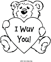 Coloring Pages Disney Valentines Day Free Printable Hello Kitty Valentine Hearts Kids