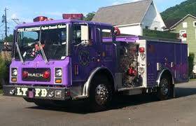 This Fire Truck Is Purple For A Purpose - KICD-FM News Talk Radio ... Old Fire Truck Picture Needs To Be Stored Please Album On Imgur A Sneak Peek At New Everett Trucks Myeverettnewscom The One Of A Kind Purple Refurbished By Diamond Rescue Scranton Fighters Iaff Local 60 Sfd Companies Feniex Industries Royal Firetruck Facebook Berea Is On For Cure Collides With Nbc Southern California Willimantic Apparatus Check Out This Insane Craneequipped Vehicle Used San Pin Kevin Byron Truck Stuff Pinterest Trucks