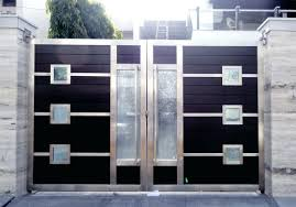 Front Doors: Gorgeous Front Door Gate Design For Modern Home ... Iron Gate Designs For Homes Home Design Emejing Sliding Pictures Decorating House Wood Sizes Contemporary And Ews Latest Pipe Myfavoriteadachecom Modern Models Concepts Ideas Building Plans 100 Wall Compound And Fence Front Door Styles Driveway Gates Decor Extraordinary Wooden For The Pinterest Design Of Geflintecom Choice Of Gate Designs Private House Garage Interior