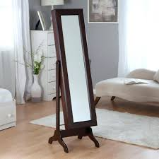 Standing Pretty Jewelry Armoire Box | KSVHS Jewellery Amazoncom Jewelry Armoire Cheval Mirror Full Length Floor Free Fniture Standing Size Wall Kirklands Silver Mirrored Floor Length Mirror Jewelry Armoire Abolishrmcom Mirrored Charming Ideas Mesmerizing 92 Italian Freestanding 3 Leaf Dressing Table