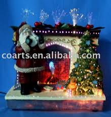 Fiber Optic Halloween Decorations by Fiber Optic Christmas Santa Claus Fiber Optic Christmas Santa