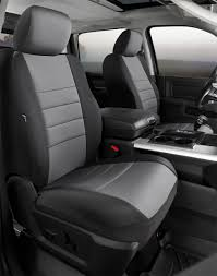 Neo Neoprene Custom Fit Truck Seat Covers, Fia, NP99-20GRAY | Titan ...