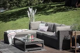 lexa rattan lounge dining möbel braun