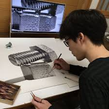 Meet Kohei Ohmori The 22 Year Old Artist From Okayama Japan Who Draws Incredible Lifelike Images With Just Pencils And Papers