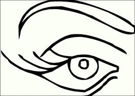Eyes Coloring Pages