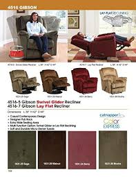 amazon com catnapper gibson lay out recliner chair sage fabric