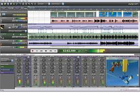 Music Recording Software Interface