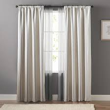 goods for life striped window curtain