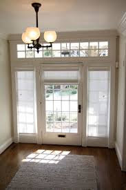 Sidelight Curtain Rods Tension by Curtains Drapes And Blinds For A Glass Front Door Glass Front