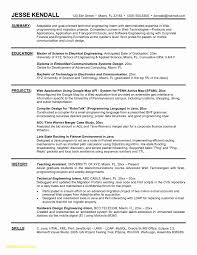 Sample Resume Electrical Engineer Malaysia Best For