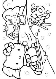 Coloring Pages Printable Angry Winter