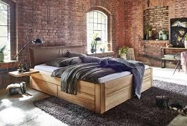 bett schubkastenbett kiefer gelaugt geölt oder weiss lasiert echtlederkopfteil braun modell easy sleep 4 1